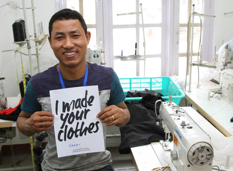 Meet Gopi – Our Talented and Hard-Working Sewing Manager