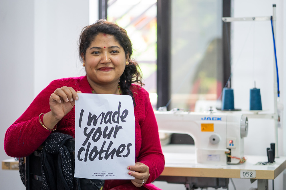 Fashion Revolution - Transparency #IMadeYourClothes