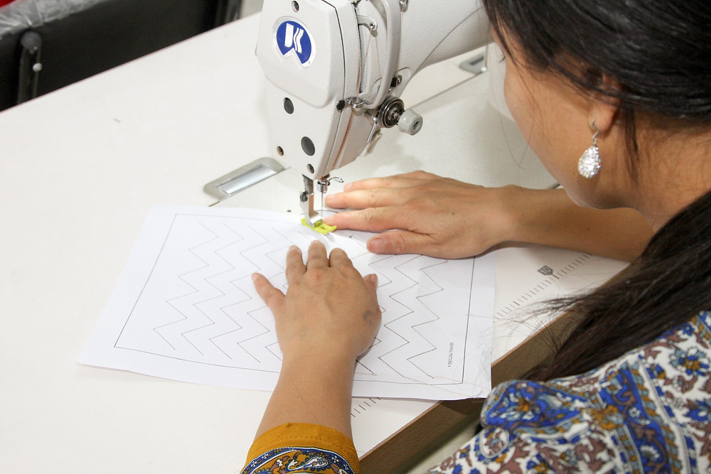 Ethical Manufacturing, sewing training skills