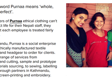 Purnaa Featured on Ethical Fashion Forum Sustainable Sourcing Series