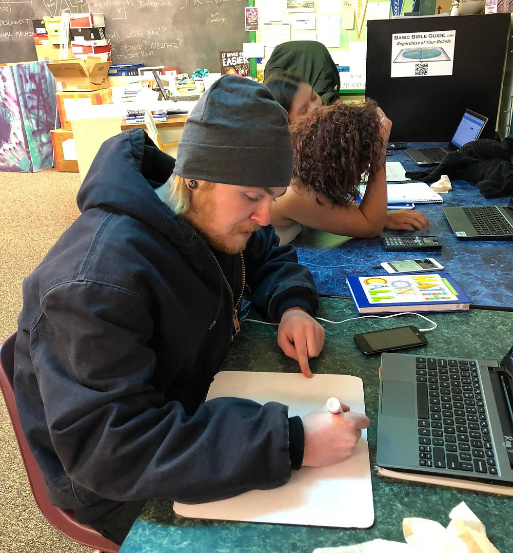 Student in Colorado, dignified employment being put to work