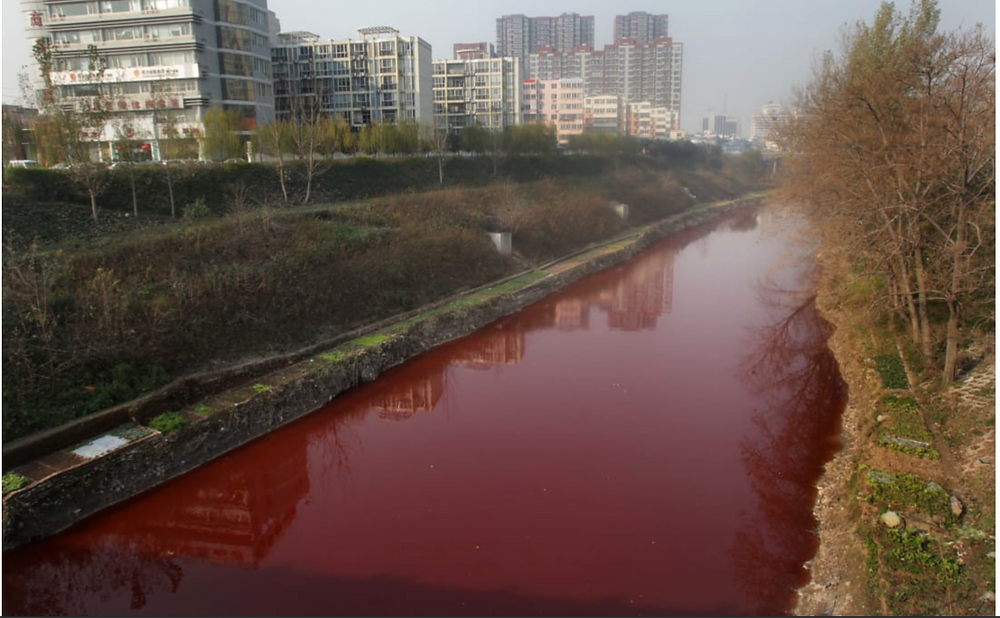 Water Pollution in Textile Industry