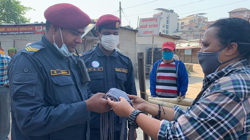 Nepal needing face masks in lockdown
