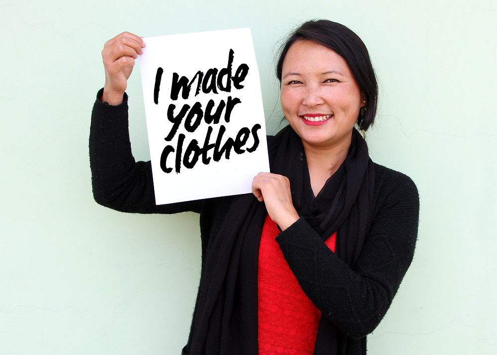 Fashion Revolution #IMadeYourClothes
