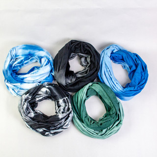 Purnaa Infinity Organic Cotton Scarves