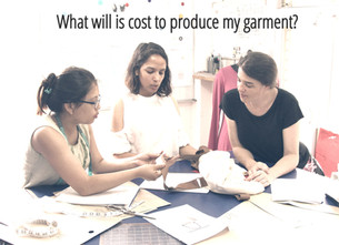 What will it cost to produce my garment?