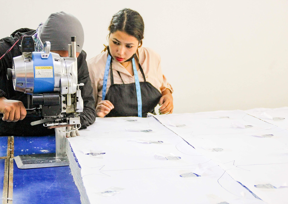 Cutting services - Cut and Sew Manufacturing