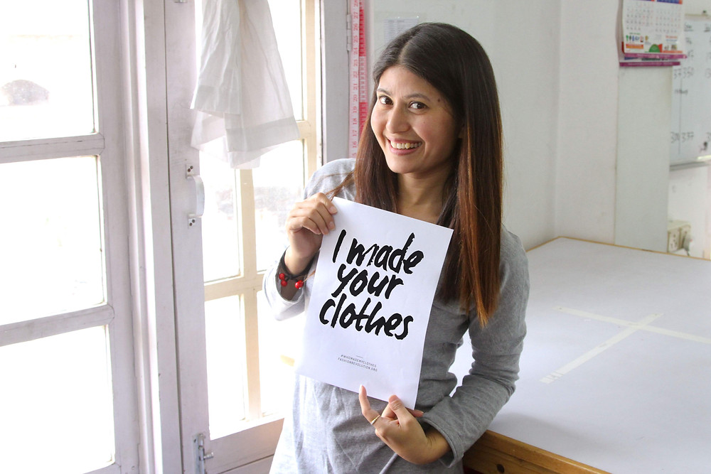 #IMadeYourClothes and Fashion Revolution