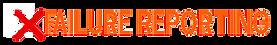 X Failure reporting wording logo