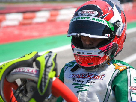 A WEEKEND FULL OF TRACK ACTION IN THE WSK EURO SERIES
