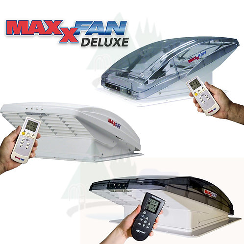 MaxxFan® Deluxe WHITE