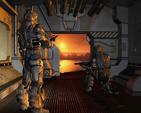 Battleship Touchdown