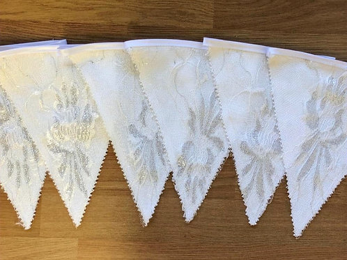 Banner Bunting - White