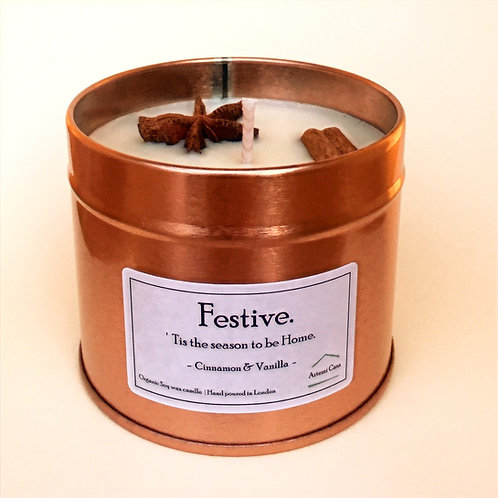 Speciality Candle tin - Cinammon Clove