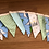 Thumbnail: Banner bunting - Dino party
