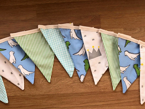 Banner bunting - Dino party