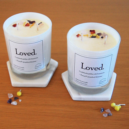 Senses Candle - Loved