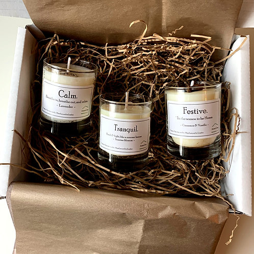 Trio of candles - Small