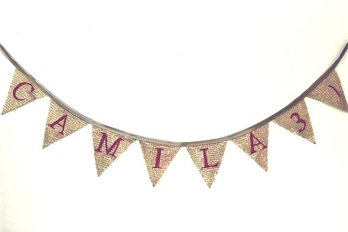 Banner Bunting - customised