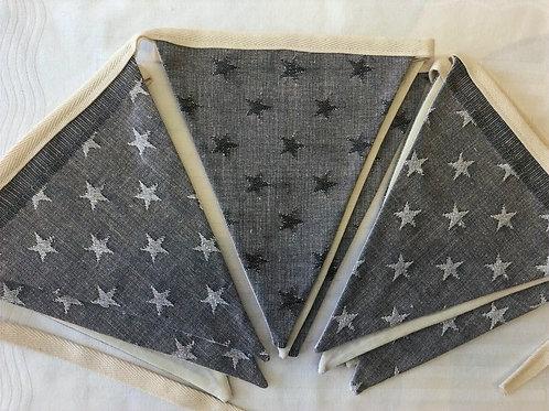 Banner Bunting - reversible stars