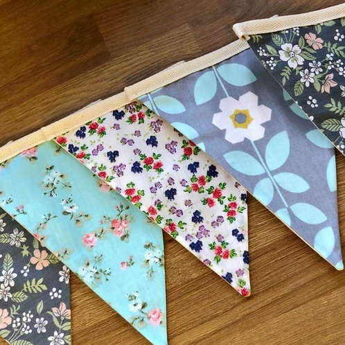 Banner bunting - Garden party