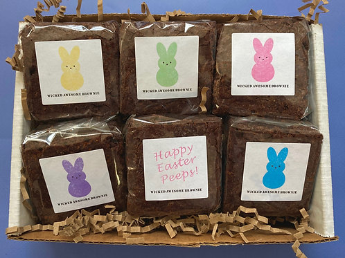 (6) Easter Minis-Peeps/Individually Wrapped/Shipping Included