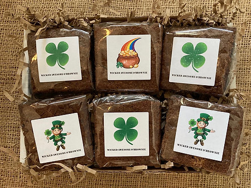 (12) St. Pat's Minis-Clover/Individually Wrapped/Shipping Included