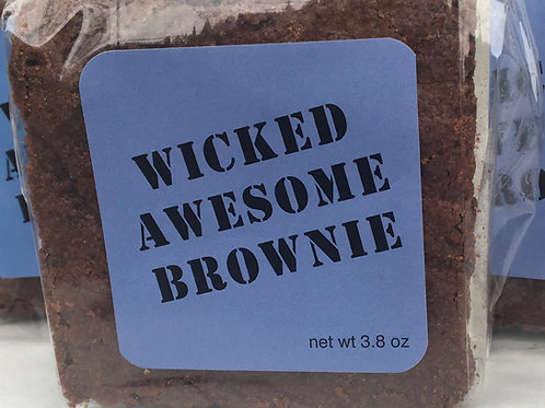 Wicked Awesome Brownie
