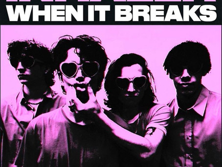 "REVIEW: inhaler release atmospheric new single, ""when it breaks"""