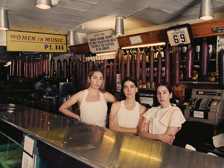order up: haim's new album, women in music pt.iii, will be out april 24th