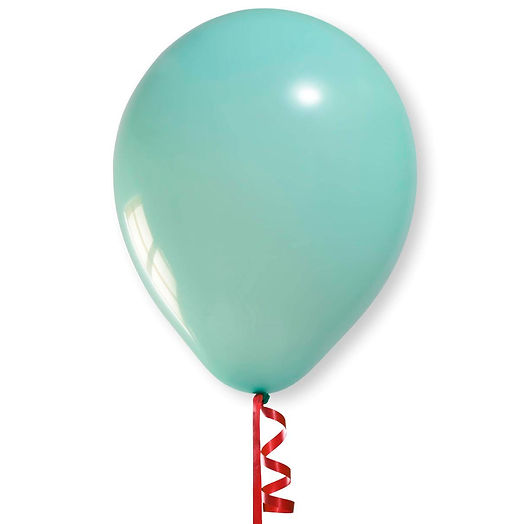 Balão Verde Água