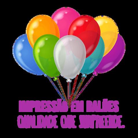 Impressão em Balões