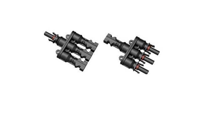 PV MC4 Branch Connector 3 to 1(MMMF+FFFM), 1000v,brand new
