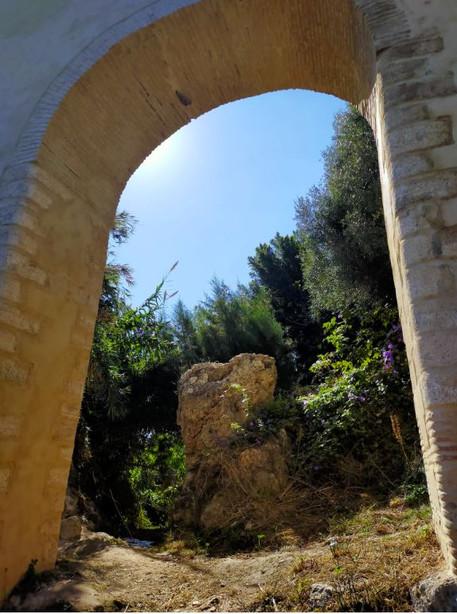 Roman aqua duct within a 10 minute walk
