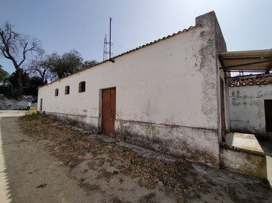 An example of one the out buildings located on the site