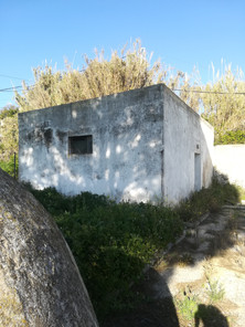 The pool pump house located next to the out door pool area