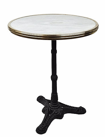 FRENCH BISTRO TABLE,  ABSINTHE ROBETTE by WA HOO DESIGNS
