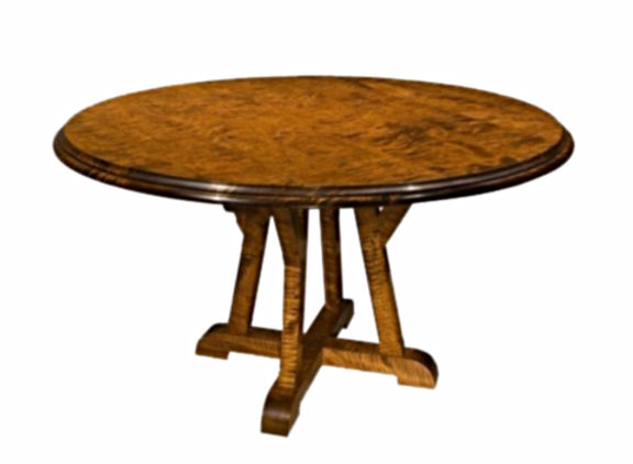 WA HOO DESIGNS Architects Round  Table, solid wood table