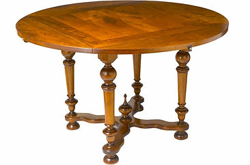 WA HOO DESIGNS DIJON BASE  Square to Round Table, solid wood table