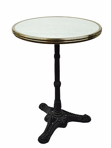 FRENCH BISTRO TABLE,  PASTIS OLIVE by WA HOO DESIGNS