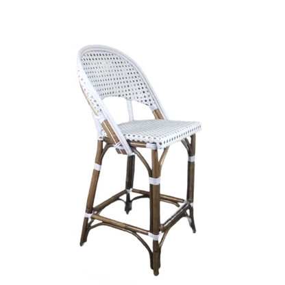 FRENCH BISTRO STOOL WH-141, WEAVE: CANNAGE