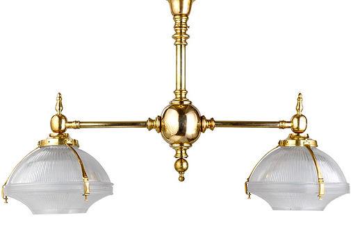 Metropolis Double  Billiard Chandelier  by WA HOO DESIGNS