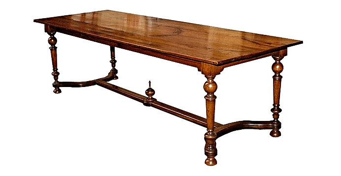 WA HOO DESIGNS Custom Dijon Dining Table, solid wood table