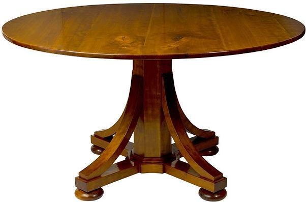 WA HOO DESIGNS Quaker Base Table, solid wood table