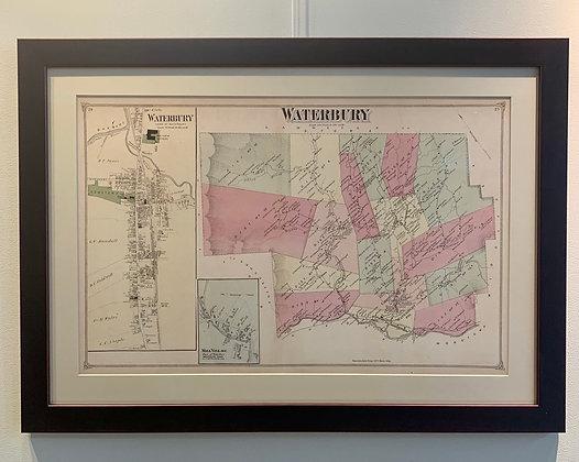 Waterbury Map