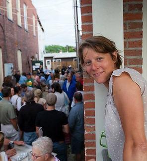 Whitney Aldrich, Owner of Axel's Frame Shop & Gallery, Watebury VT