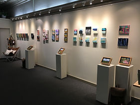 Smalls Group Show at Axel's Gallery & Frame Shop Waterbury, VT