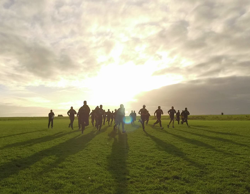 sunset team running pic from drone.jpg