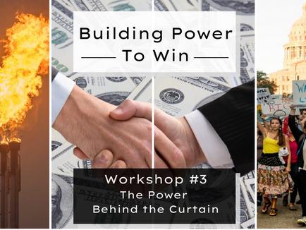 Sierra Club: Legislative Workshop #3 - Who Holds Power at the Texas Capitol?