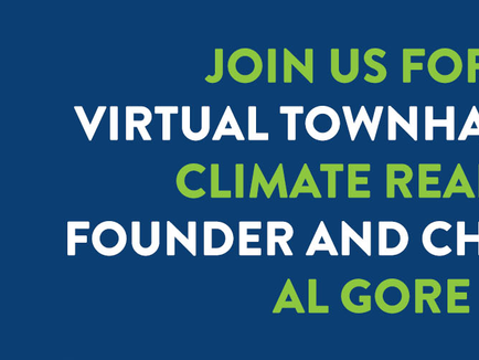 Join Al Gore for a Town Hall: December 15th